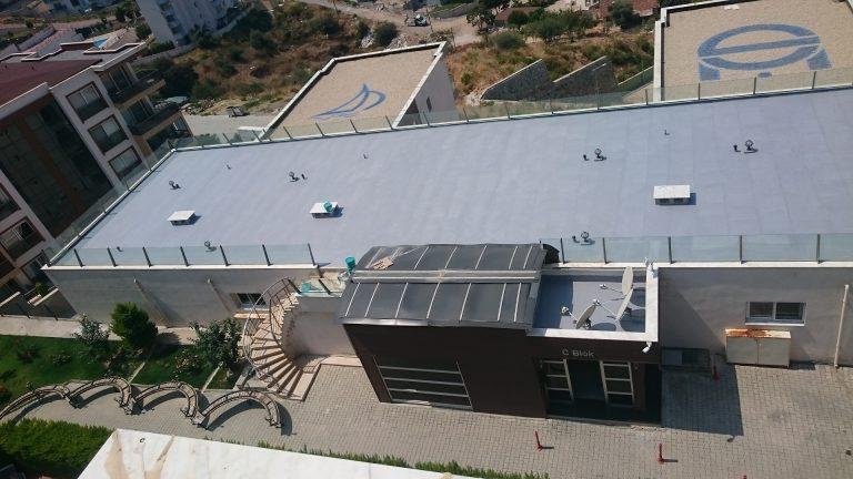 kuşadası teras çatı izolasyonu